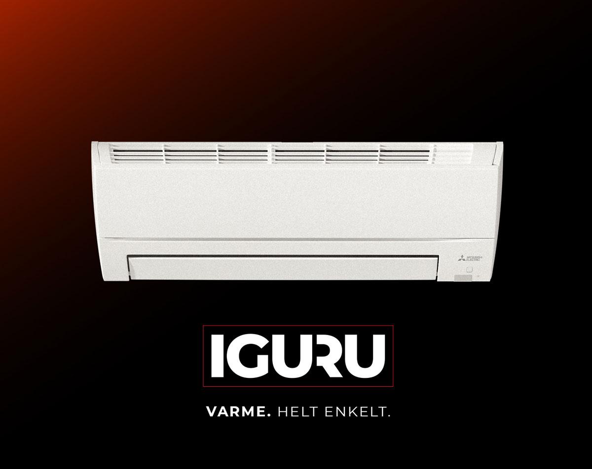 IGURU er også spesialkonstruert for klimaet vi har i Skandinavia.