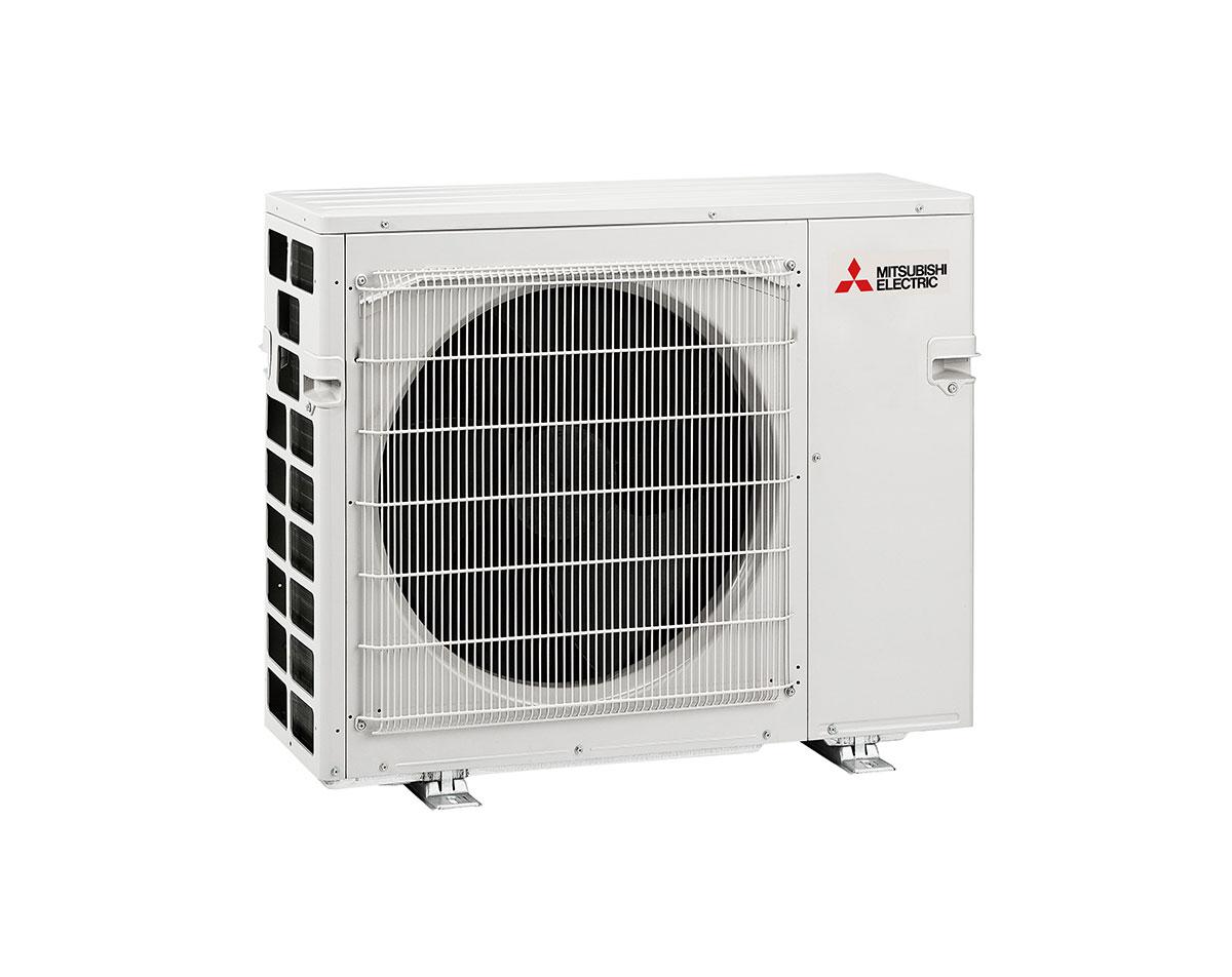 Kirigamine Duo 6400 er løsningen for deg som ønsker ulik temperatur i forskjellige rom, men bare én utedel på husveggen.