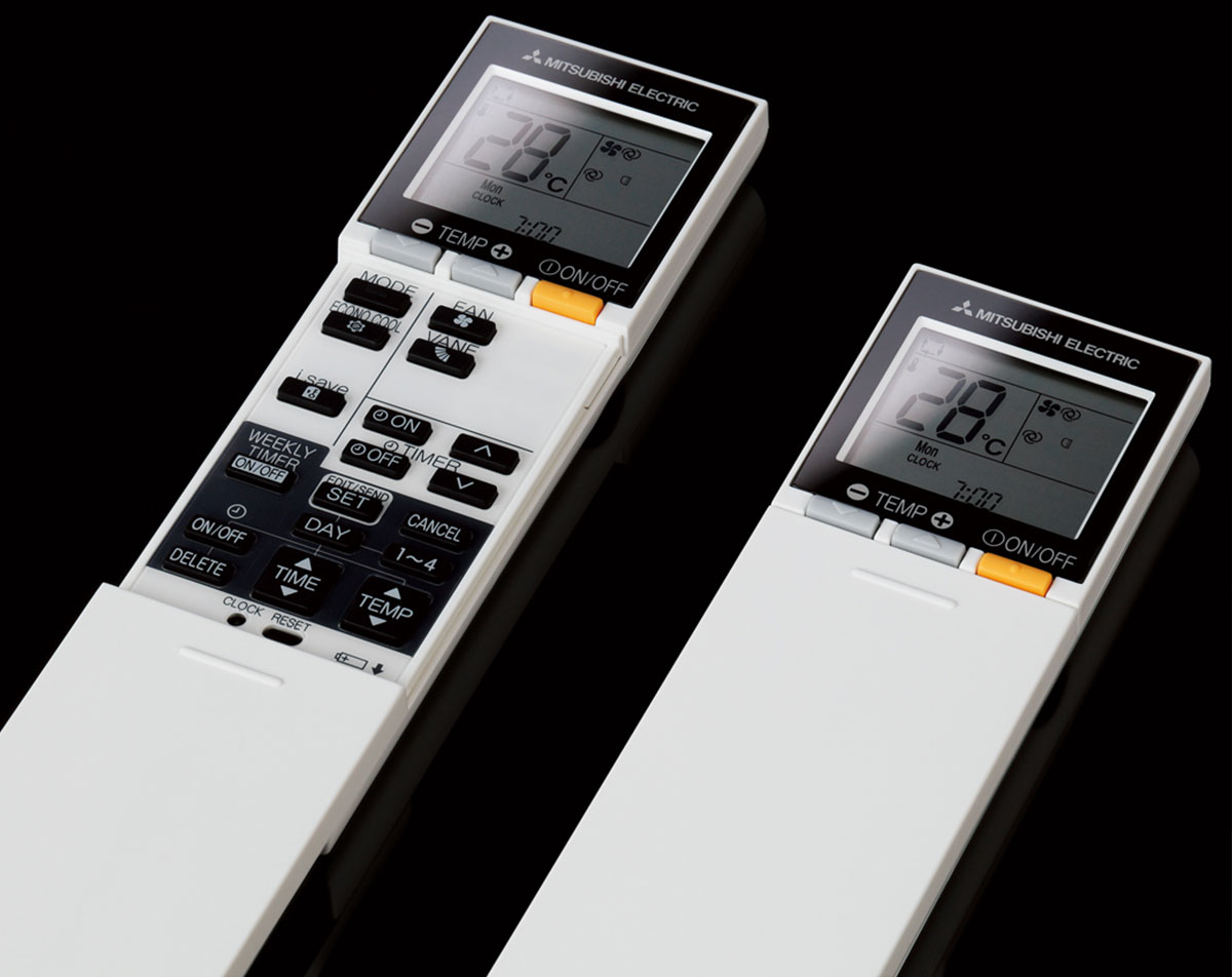 ZEN har uketimerfunksjon som gjør at du kan optimalisere temperaturstyring og AV/PÅ gjennom alle ukens 7 dager via fjernkontrollen.